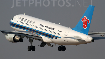 B-6187 - Airbus A319-115 - China Southern Airlines