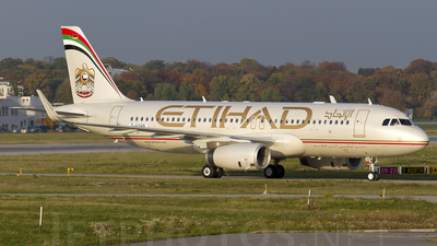 D-AXAN - Airbus A320-232 - Etihad Airways