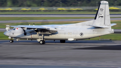 717 - Fokker 50 - Singapore - Air Force