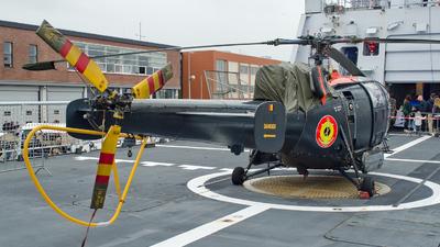 M-3 - Aérospatiale SA 316B Alouette III - Belgium - Navy