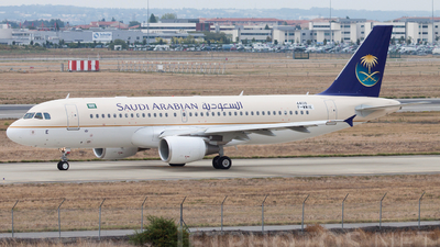 F-WWIE - Airbus A320-214 - Saudi Arabian Airlines