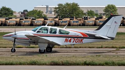 A picture of N4701K - Beech D55 Baron - [TE717] - © Steve Homewood