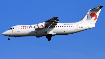 LZ-HBF - British Aerospace BAe 146-300 - Belle Air (Hemus Air)
