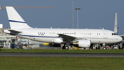 VP-BED - Airbus A319-115X(CJ) - Sonair