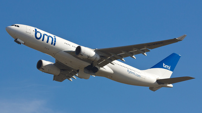 G-WWBM - Airbus A330-243 - bmi British Midland International
