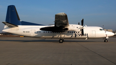 PH-KXX - Fokker 50 - Denim Air