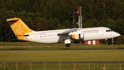 SE-DSY - British Aerospace Avro RJ100 - Malmö Aviation