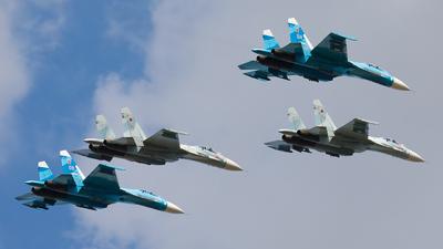 RF-93731 - Sukhoi Su-27 Flanker - Russia - Air Force