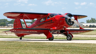 NC51121 - Beechcraft D17S Staggerwing - Private