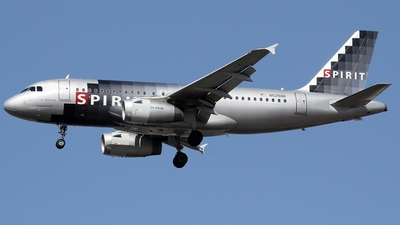 N525NK - Airbus A319-132 - Spirit Airlines