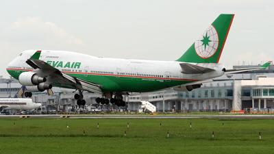 B-16462 - Boeing 747-45E(BDSF) - Eva Air
