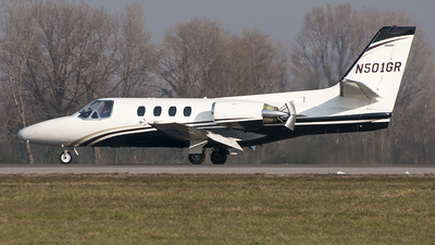 N501GR - Cessna 501 Citation SP - Private