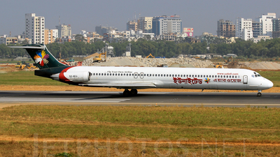 A picture of S2AEU - McDonnell Douglas MD83 - [49790] - © Nafees Shaan