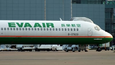 B-17923 - McDonnell Douglas MD-90-30 - Eva Air
