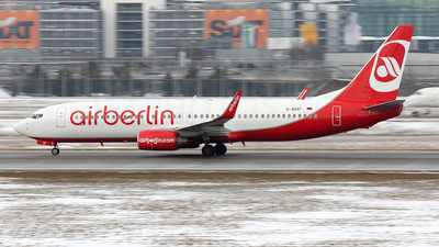 D-ABAF - Boeing 737-86J - Air Berlin