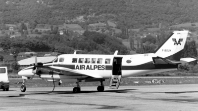 F-BSUK - Beech 99 Airliner - Air Alpes