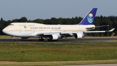TF-AMV - Boeing 747-412 - Saudi Arabian Airlines (Air Atlanta Icelandic)