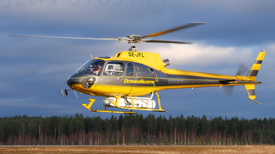 SE-JFL - Aérospatiale AS 350B2 Ecureuil - Osterman Helicopter
