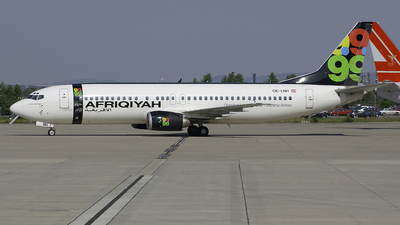 OE-LNH - Boeing 737-4Z9 - Afriqiyah Airways (Lauda Air)