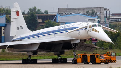 CCCP-77115 - Tupolev Tu-144D - Aeroflot