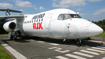 G-IRJX - British Aerospace Avro RJX100 - BAe Systems