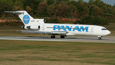 N348PA - Boeing 727-222(Adv) - Pan Am Clipper Connection (Boston-Maine Airways)