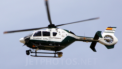 A picture of HU.2606 - Airbus Helicopters H135 - [0366] - © Alberto U.