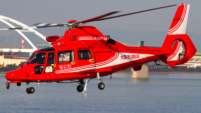 JA100F - Eurocopter AS 365N3 Dauphin - Japan - Osaka Municipal Fire Department