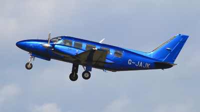 A picture of GJAJK - Piper PA31350 -  - © mark p