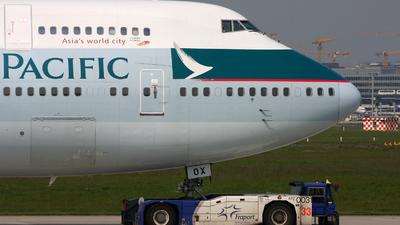 B-HOX - Boeing 747-467 - Cathay Pacific Airways
