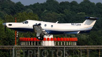 N672PP - Pilatus PC-12/45 - Private