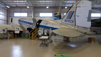 N105CA - Douglas C-47B Skytrain - Desert Air