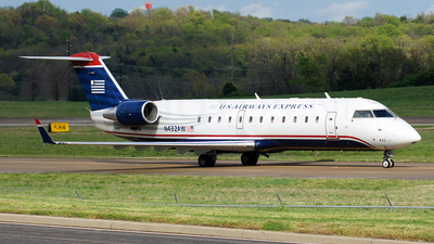 N432AW - Bombardier CRJ-200LR - US Airways Express (Air Wisconsin)