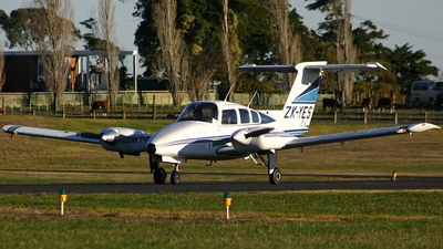 ZK-YES - Beechcraft 76 Duchess - Eagle Flight Training
