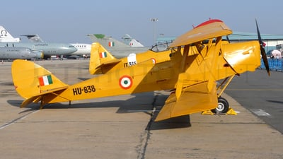 HU-838 - De Havilland DH-82 Tiger Moth - India - Air Force