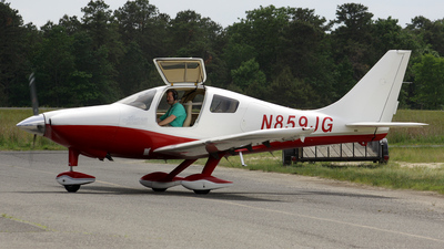 N859JG - Lancair LC42-550FG Columbia 350 - Private