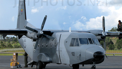 ARC-702 - CASA C-212-100 Aviocar - Colombia - Navy