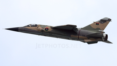 508 - Dassault Mirage F1EDA - Libya - Air Force