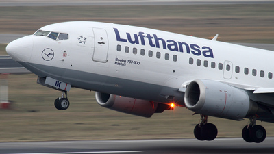 D-ABIK - Boeing 737-530 - Lufthansa