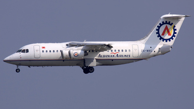 ZA-MAL - British Aerospace BAe 146-200 - Albanian Airlines