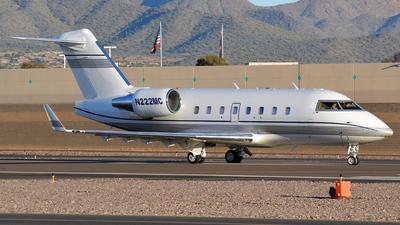 N222MC - Bombardier CL-600-2B16 Challenger 604 - Flight Management