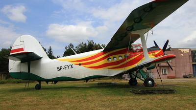 SP-FYX - Antonov An-2 - Aero Club - Bialostocki