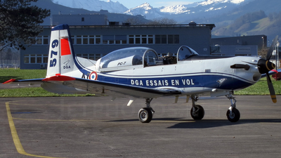 579 - Pilatus PC-7 - France - Direction Generale de l'Aviation Civile