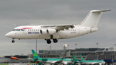 G-FLTB - British Aerospace BAe 146-200 - BA CityFlyer (Flightline)