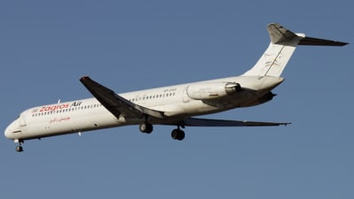 EP-ZAD - McDonnell Douglas MD-83 - Zagros Airlines