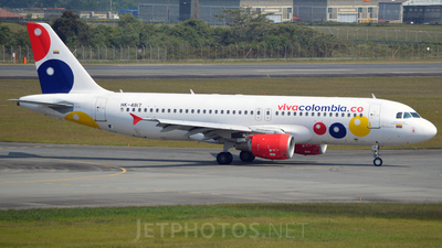 HK-4817 - Airbus A320-214 - VivaColombia