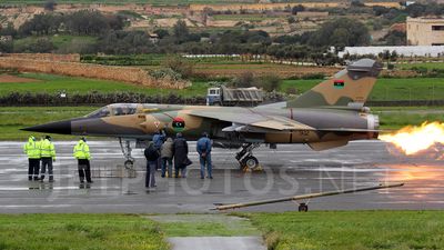 502 - Dassault Mirage F1EDA - Libya - Air Force