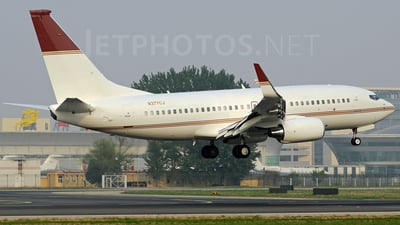 N377CJ - Boeing 737-73Q(BBJ) - Private