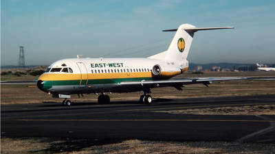 VH-EWF - Fokker F28-3000 Fellowship - East-West Airlines