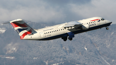 G-CFAA - British Aerospace Avro RJ100 - BA CityFlyer